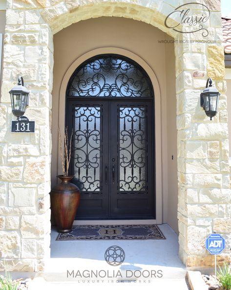 Beautiful Unique Custom Wrought Iron Doors By Magnolia Doors In