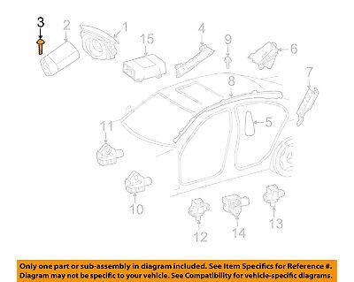Mercedes Oem 10 16 E350 Restraint System Passenger Air Bag Screw 000000003251 In 2020 Mercedes Air Bag Passenger