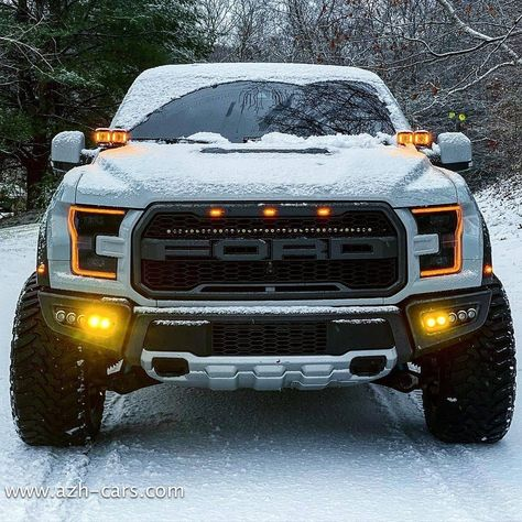 Big Ford Trucks, Old Pickup Trucks, Cool Trucks, Lifted Trucks, Ford Ranger Raptor, Ford Raptor Lifted, Badass Jeep, Custom Muscle Cars, Dream Cars