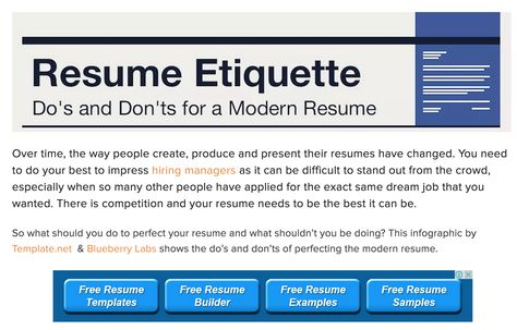 What should you do to perfect your resume and what shouldnu0027t you - doing a resume