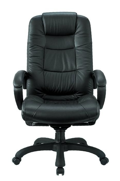 Executive Chair Real Leather Ergonomic Desk Chairs Height