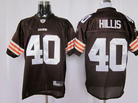 New reebok cleveland browns peyton hillis 40 white authentic jerseys sale  for sale