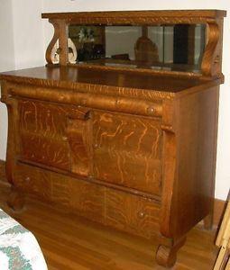 Elegant Antique Belgium Oak U0026 Marble Sideboard Buffet Server Cabinet | EBay |  Golden Oak Furniture, 1800 1900 | Pinterest | Buffet Server, Sideboard  Buffet And ...