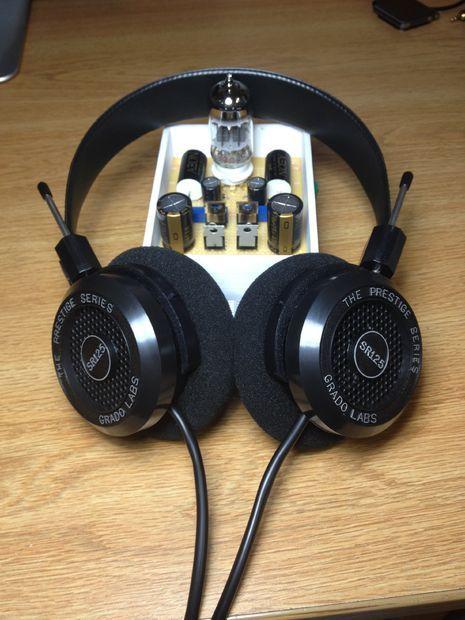 Diy Hi Fi Class A Hybrid Headphone Amp Diy Headphones Headphone Amp Headphones Diy Holder