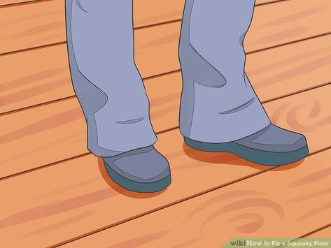 How To Fix A Squeaky Floor Squeaky Floors Fix Squeaky Floors Squeaky