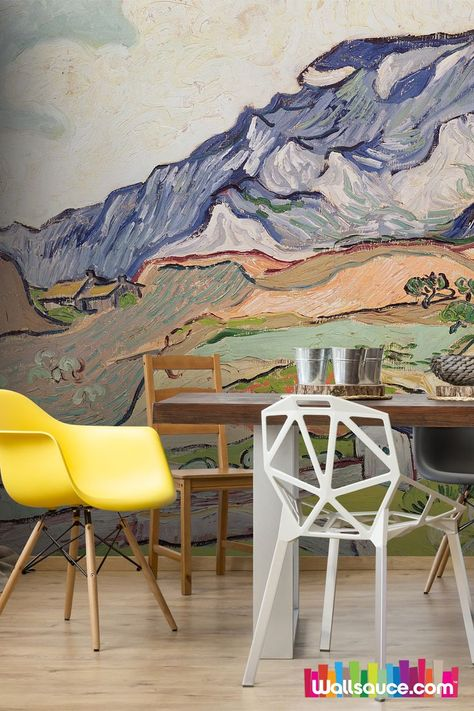 Gogh Vincent Van Wallsauce Uk Wall Murals Mural Wallpaper Wallpaper Accent Wall