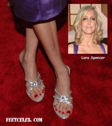 Feet laura spencer 33 Lara