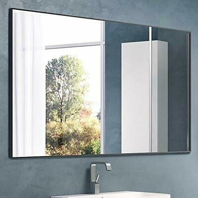 Nitin Large Modern Wall Mirror 36 X 24 Rectangle Wall Mounted