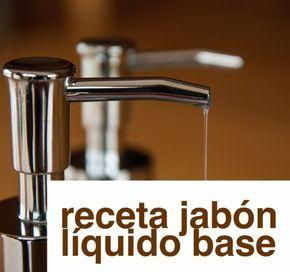 Como Elaborar Un Jabon Liquido Base Suave Jabon Liquido Jabon