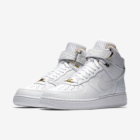 Just Don x Nike Air Force 1 High | TH@NK GOD I'M FRE$H