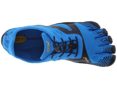 timeless design 8dc27 39f65 Vibram FiveFingers KSO EVO Men s Running Shoes Blue Black