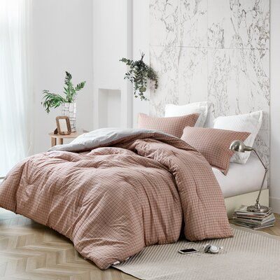 Winston Porter Hebert Reversible Comforter Set Wayfair Bed Comforter Sets Comforter Sets Twin Xl Bedding