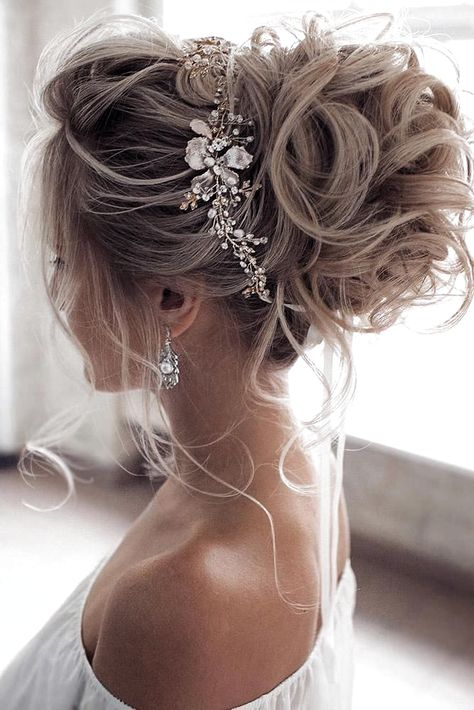 36 Hottest Bridesmaids Hairstyles Ideas ❤️ hottest bridesmaids hairstyles ideas elegant curly high updo with glamorous accessorie tonyastylist #weddingforward #wedding #bride #weddinghairstyles #hottestbridesmaidshairstylesideas