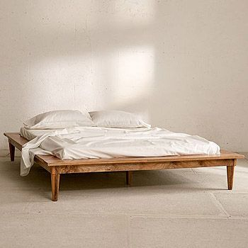 The Best Affordable Boho Beds And Headboards Rattan And Wood Posh Pennies Platform Bed Bed Rustic Platform Bed Cheap bed frames with headboards