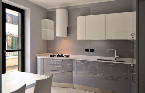 Déco cuisine gris et blanc – sobre et efficace | Naima ...