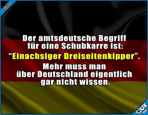 Tja, so sind wir eben :) #Deutschland #deutsch #typischdeutsch #Sprüche #lustiges