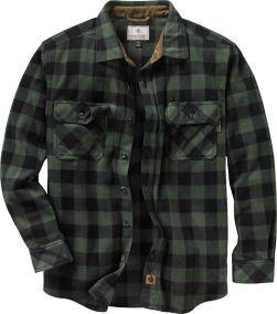 e863b7c157 Mens Navigator Fleece Button Down Shirt