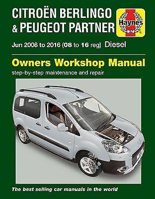 Advertisement Ebay Haynes Manuel 6341 Citroen Berlingo Ou Peugeot Partner Diesel 2008 2016 In 2020 Citroen Berlingo Citroen Peugeot