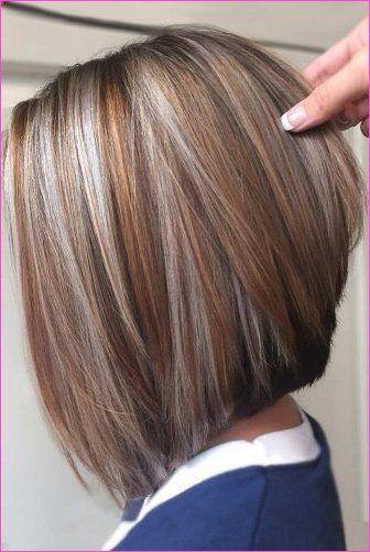 10 Einfache Gerade Bob Frisuren Mit Schonem Balayage Bob Frisur Haarschnitt Haarschnitt Bob