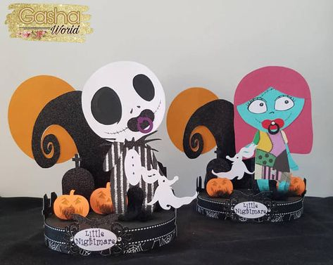 1 Pc Jack Skellington Baby Shower Centerpiece Baby Jack Skellington
