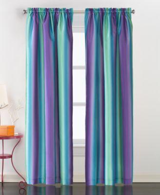 Rainbow Ombre 63 Window Panel Pink Rainbow Curtains Craft