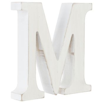 Whitewash Wood Letter M In 2020 Whitewash Wood Wood Letters Hobby Lobby Letters