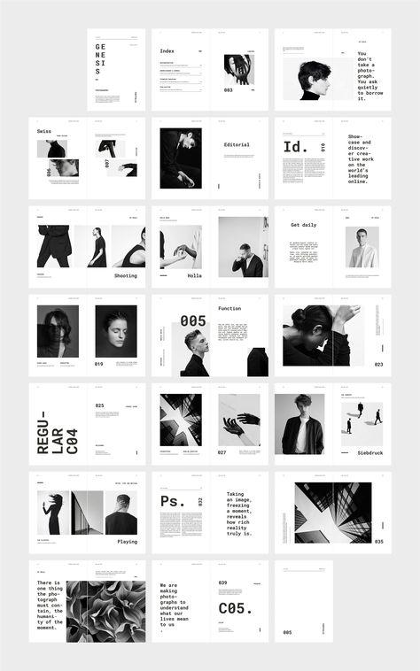 GENESIS Photography Portfolio by flowless on @creativemarket