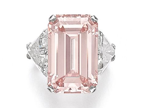 3 Huge Intense Pink Diamonds At Sotheby S Geneva Auction Naturally Colored Pink Diamond Ring Pink Diamond Engagement Ring Pink Diamonds Engagement