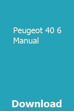 Peugeot 40 6 Manual Words Vw Fox Oprahs Book Club