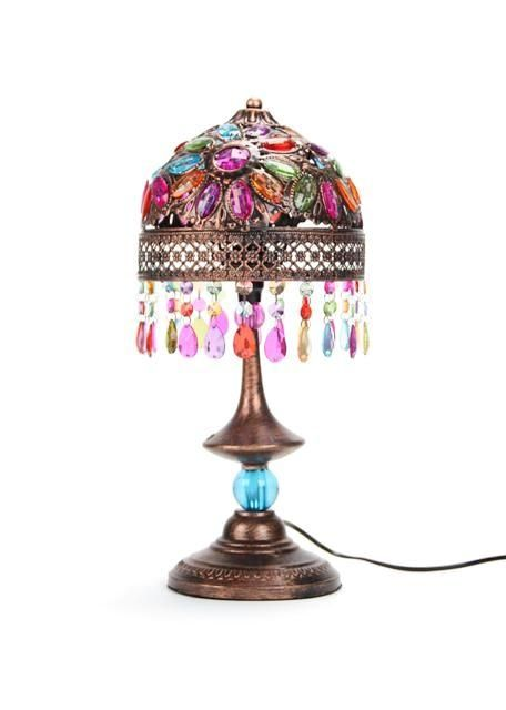 Draw Out The Magic Of A Space With Fantastical Lighting In Vibrant Colours The Tangiers Tiffany Lamp Is A Perfect Deco Accompanim Lamp Table Lamp Unique Lamps