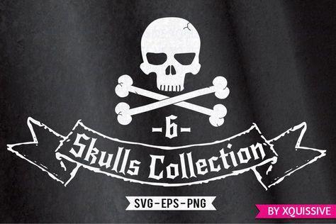 Skulls Bundle - Limited time offer! (25553)   Illustrations   Design Bundles