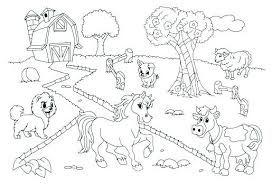 Image Result For Desenhos Para Colorir De Animais De Fazenda
