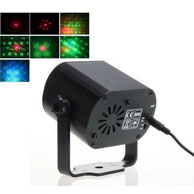 60 Patterns Rgb Led Disco Light 5v Usb Recharge Rgb Laser Projection Lamp Stage In 2020 Led Disco Lights Disco Lights Led Lights