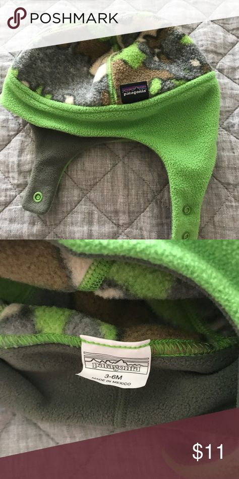 701252661d87a Patagonia Baby Reversible Synchilla® Fleece Hat Washed. Never worn. Size  3-6 month Patagonia Other