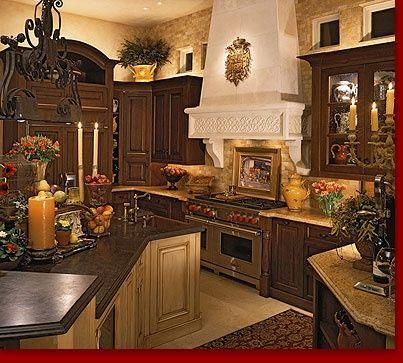 Tuscan Villa Kitchen  Stuff  Pinterest  Villas Kitchens And Impressive Tuscan Kitchen Designs Review