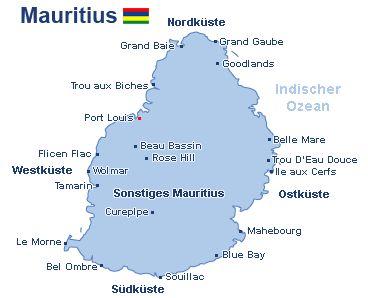 Karte Mauritius Mauritius Mauritius Karte Ab In Den Urlaub