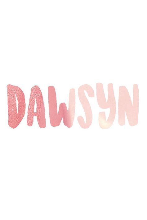 Dawsyn I Unusual Baby Names for Girls I Nameille.com