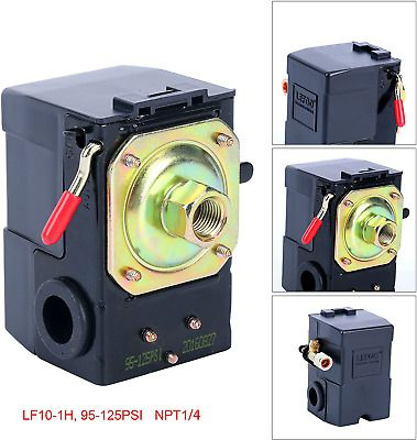 Ad Ebay Url Lefoo Lf10 1h 1 Npt1 4 95 125 Pressure Switch In 2020 Air Compressor Pressure Switch Air Compressor Compressor