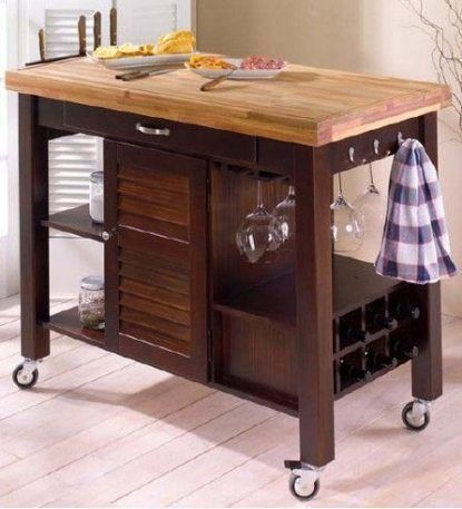 26 Ideas Kitchen Island On Wheels Diy Butcher Blocks Blocks Butcher Diy Ide In 2020 Kitchen Island On Wheels Butcher Block Kitchen Butcher Block Island Kitchen