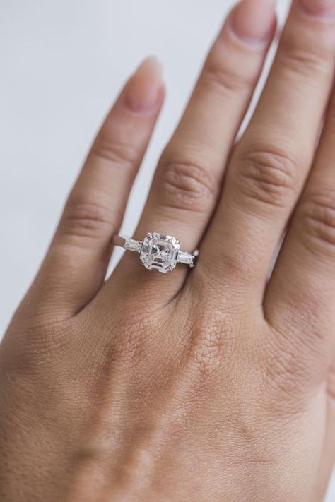 This Item Is Unavailable Vintage Inspired Rings Baguette Engagement Ring Engagement Rings