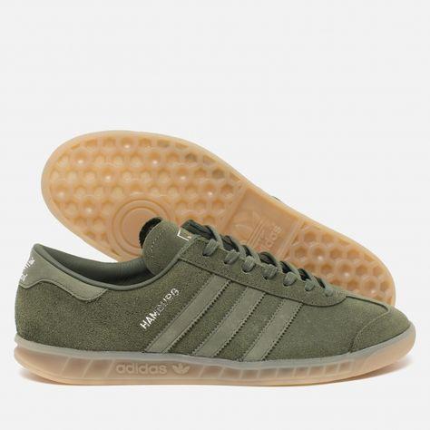 adidas Originals Hamburg GreenMetallic Silver. Article