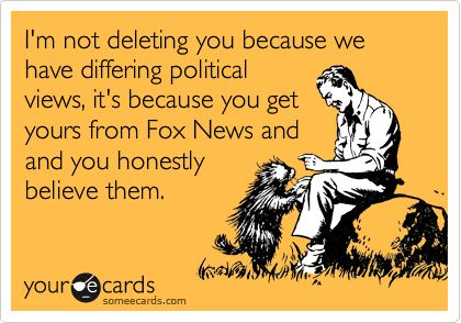 Funny Farewell Ecard I M Not Deleting You Because We Have