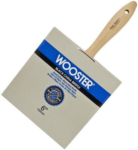 Wooster Brush Z1516 6 Trusty Block Paintbrush 6 Inch Paint Brushes And Rollers Wooster Brush Patio Stain