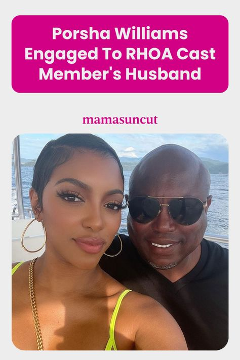 Porsha Williams is engaged and let's just say her new beau is in The Real Housewives of Atlanta family...