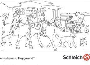 Schleich Paarden Kleurplaat Jpg 2141 1555 Playmobil Ausmalbilder Ausmalbilder Ausmalbilder Zum Drucken