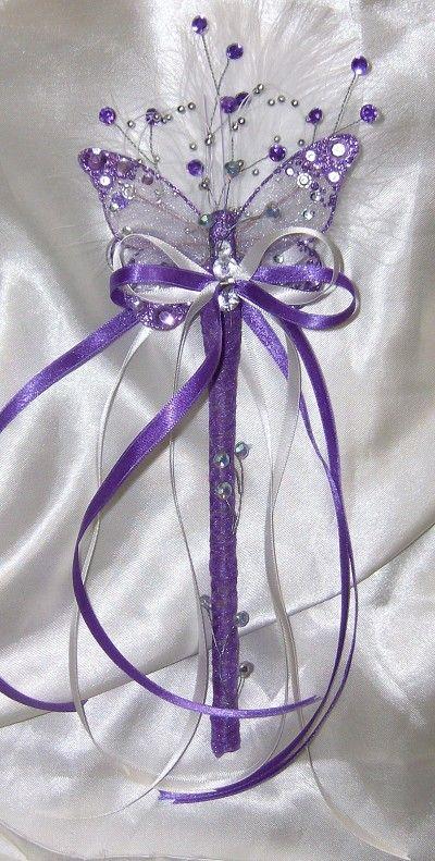 flower girl wands & bridesmiads wands - wands for a princess (home )