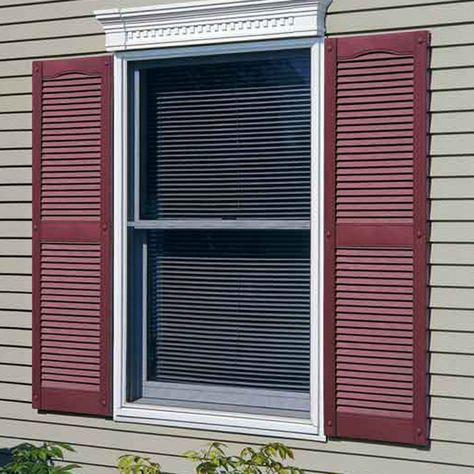 Bring Your Vinyl Shutters To Life With A Fresh Coat Of Paint Plastic Shutters Vinyl Shutters House Shutters