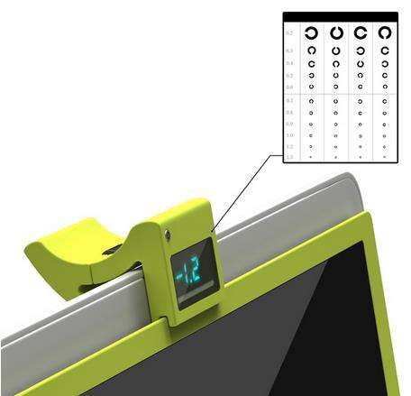 Eyesight-Adjusting Screens- This prototype concept is hi-tech -- rather than having to wear glasses to see better, it lets the object adjust to your eyesight. This idea by Ryan Jongwoo Choi is called the i-Free.