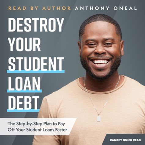 Destroy Your Student Loan Debt The Step By Step Plan To Pay Off Your Student Loans Faster Unabridged 71 Off 4 99 Student Loans Student Loan Debt How To Plan