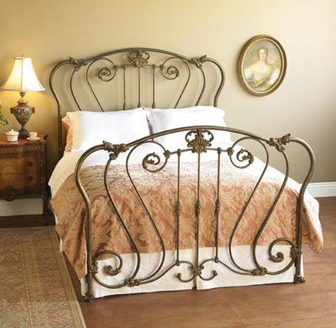 WES- Hamden Wrought Iron Bed